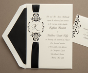 Purple Invitations · Monogram Invitations ...