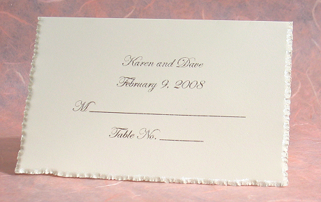 Wedding Place Cards Custom Printed Personalized Placecards